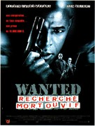 Most Wanted - French Movie Poster (xs thumbnail)