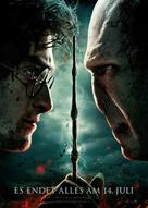 Harry Potter and the Deathly Hallows: Part II - German Movie Poster (xs thumbnail)