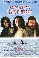 La veuve de Saint-Pierre - Swedish Movie Poster (xs thumbnail)