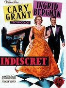 Indiscreet - French Movie Poster (xs thumbnail)