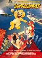 Jungledyret - Danish Movie Poster (xs thumbnail)