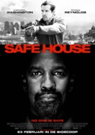 Safe House - Dutch Movie Poster (xs thumbnail)