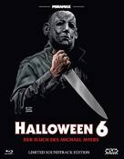 Halloween: The Curse of Michael Myers - Austrian Blu-Ray cover (xs thumbnail)