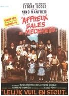 Brutti sporchi e cattivi - Belgian Movie Poster (xs thumbnail)