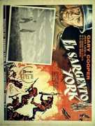 Sergeant York - Mexican Movie Poster (xs thumbnail)
