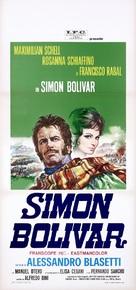 Simón Bolívar - Italian Movie Poster (xs thumbnail)