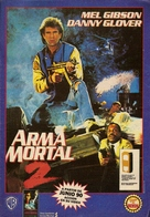 Lethal Weapon 2 - Argentinian Video release poster (xs thumbnail)
