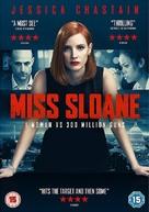 Miss Sloane - British DVD movie cover (xs thumbnail)