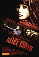 The Disappearance of Alice Creed - Australian Movie Poster (xs thumbnail)