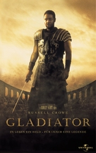 Gladiator - German VHS movie cover (xs thumbnail)