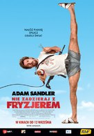 You Don't Mess with the Zohan - Polish Movie Poster (xs thumbnail)