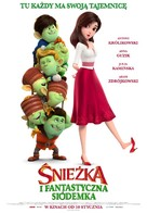 Red Shoes & the 7 Dwarfs - Polish Movie Poster (xs thumbnail)