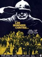 Uomini contro - French Movie Poster (xs thumbnail)