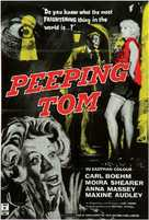 Peeping Tom - British Movie Poster (xs thumbnail)