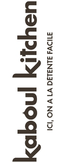 """Kaboul Kitchen"" - French Logo (xs thumbnail)"
