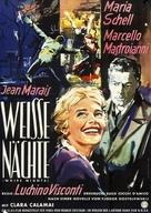 Notti bianche, Le - German Movie Poster (xs thumbnail)