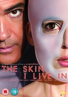 La piel que habito - British DVD movie cover (xs thumbnail)