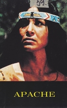Apache Blood - Finnish VHS movie cover (xs thumbnail)