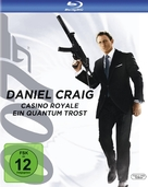 Quantum of Solace - German Blu-Ray cover (xs thumbnail)