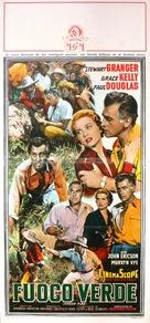 Green Fire - Italian Movie Poster (xs thumbnail)