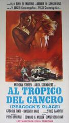 Al tropico del cancro - Italian Movie Poster (xs thumbnail)