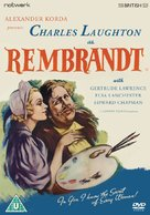 Rembrandt - British DVD movie cover (xs thumbnail)