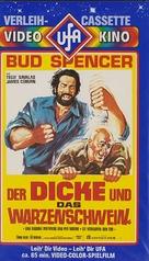 Una ragione per vivere e una per morire - German VHS movie cover (xs thumbnail)