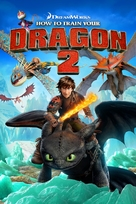 How to Train Your Dragon 2 - DVD cover (xs thumbnail)