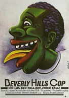 Beverly Hills Cop - German Movie Poster (xs thumbnail)