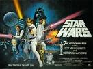Star Wars - British Theatrical movie poster (xs thumbnail)