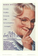 Mrs. Doubtfire - Italian Movie Poster (xs thumbnail)