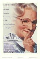 Mrs. Doubtfire - Italian Movie Poster (xs thumbnail)