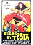 Sesso in testa - Italian Movie Poster (xs thumbnail)