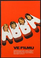 ABBA: The Movie - Czech Movie Poster (xs thumbnail)