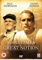 Sometimes a Great Notion - British DVD movie cover (xs thumbnail)