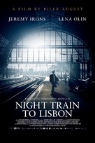 Night Train to Lisbon - Swedish Movie Poster (xs thumbnail)
