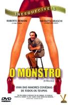 Il mostro - Brazilian DVD cover (xs thumbnail)