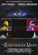 The Lawnmower Man - German Movie Poster (xs thumbnail)
