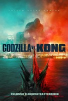 Godzilla vs. Kong - Finnish Movie Poster (xs thumbnail)