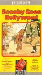 Scooby-Doo Goes Hollywood - British VHS cover (xs thumbnail)