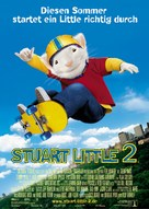 Stuart Little 2 - German Movie Poster (xs thumbnail)