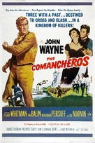 The Comancheros - Movie Poster (xs thumbnail)