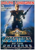 Masters Of The Universe - German Movie Poster (xs thumbnail)