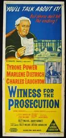 Witness for the Prosecution - Australian Movie Poster (xs thumbnail)
