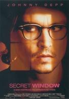 Secret Window - Italian Movie Poster (xs thumbnail)