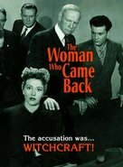 Woman Who Came Back - DVD cover (xs thumbnail)