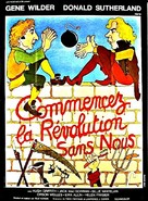 Start the Revolution Without Me - French Movie Poster (xs thumbnail)
