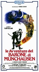 The Adventures of Baron Munchausen - Italian Movie Poster (xs thumbnail)