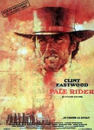 Pale Rider - French Movie Poster (xs thumbnail)