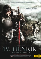 Henri 4 - Hungarian DVD cover (xs thumbnail)
